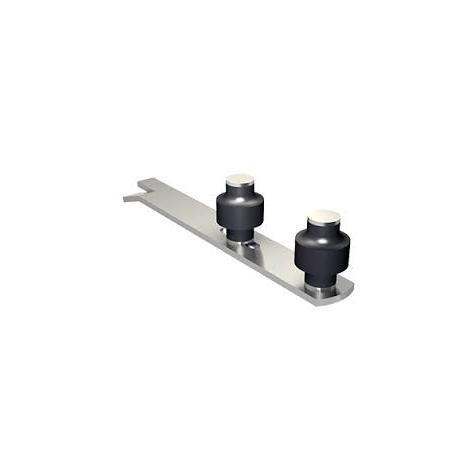 Guide à scellement horizontal réglable 1092 MANTION SA - 2 olives zytel - Ø 45 mm - 1092