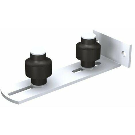 Guide à visser réglable inférieur 1092V MANTION SA - 2 Olives Zytel - Ø45 mm - 1092V