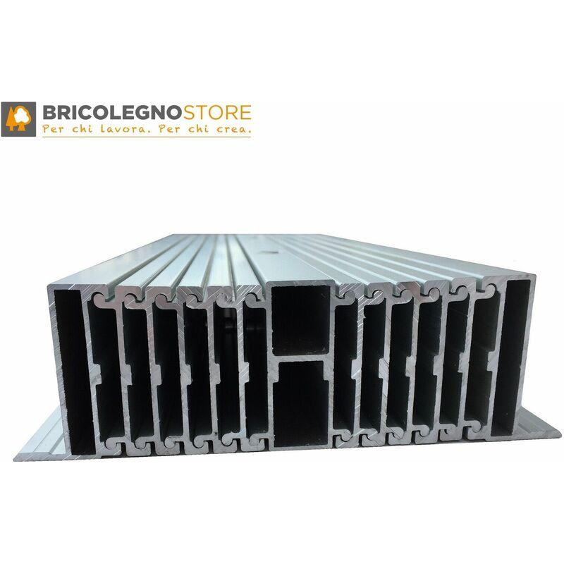 Guide Telescopiche Per Tavoli Allungabili.Guide Allungabili Con Gamba Centrale X Tavoli Consolle Estensibili Fino A 350 Cm