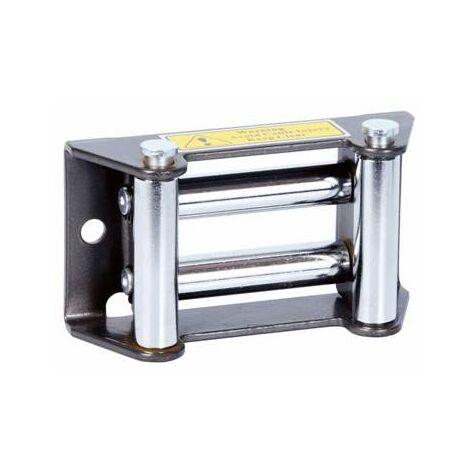Guide cable a rouleaux pour treuil electrique de 4x4 standard
