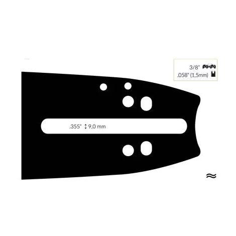 Guide Chaine pour Tronçonneuse Husqvarna 50cm 3/8 .058 (1,5mm)