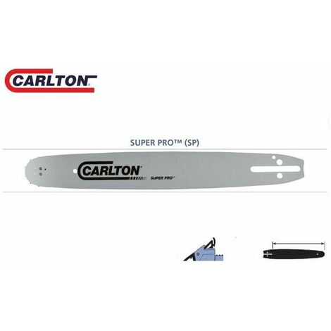 Guide chaîne tronçonneuse Carlton 3/8LP 050