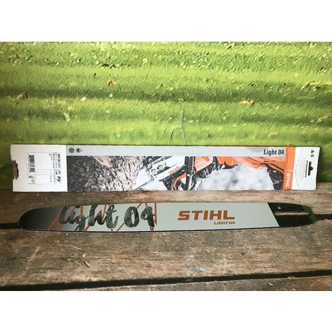"""Guide chaine tronçonneuse Stihl 45 cm Light 04 325"""" 1,3mm 30030083317"""