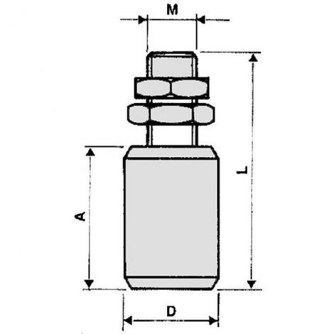 Guide nylon cylindrique Torbel Industries