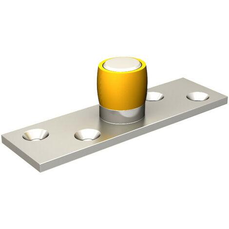 Guide olive en laiton Ø 24 mm pour porte jusqu'à 300 kg
