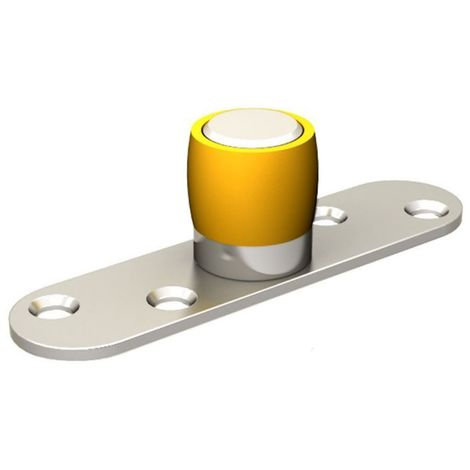 Guide olive en nylon diamètre Ø 24 mm pour porte jusqu'à 150 kg