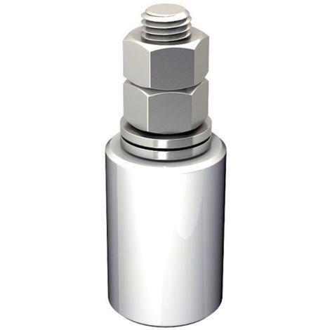 Guide olive nylon blanc diamètre 40 x 60 hauteur 102 vis de 16 mm