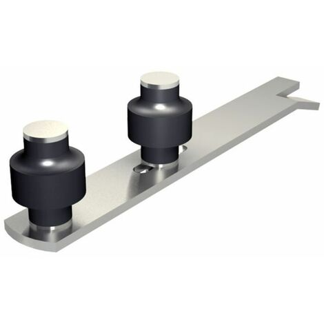 """main image of """"Guide réglable à sceller avec 2 olives zytel Ø45 mm pour porte jusqu'à 900 kg"""""""