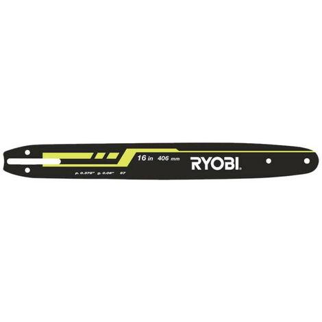 Guide RYOBI 40,6cm pour tronçonneuses électriques RAC249