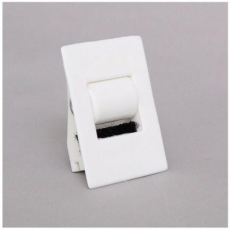 Guide sangle 15mm encastrable pour volet roulant Blanc - Blanc