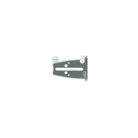 Guide tronçonneuse 45 CM adaptable SHINDAIWA 575 type 3/8 1.5mm 68 Maillons