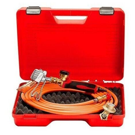 Guilbert Express - Valisette de couvreur avec détendeur+tuyau+manche raccord 3/8G+lance+panne 778