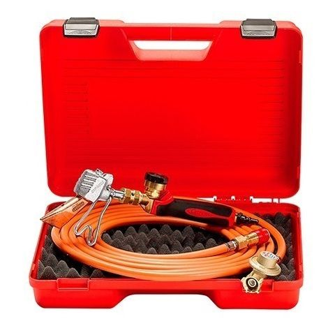Guilbert Express - Valisette de couvreur avec détendeur+tuyau+manche raccord 3/8G+lance+panne 778 - TNT