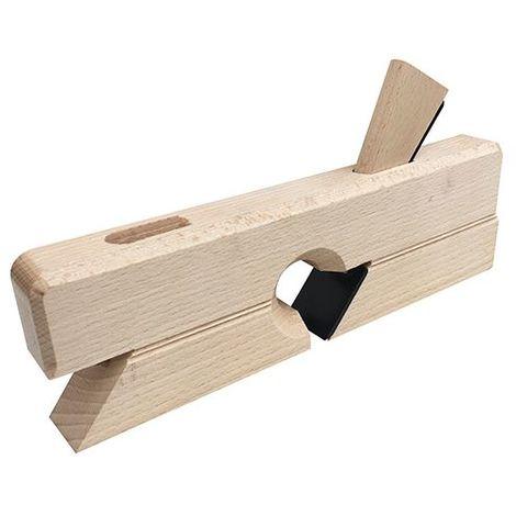 Guillaume d'ébéniste 30 mm en bois d' hêtre brut à double positionnement du fer - Diamwood