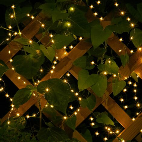 Guirlande 80-200 LEDs Flexible Lumière intérieur et extérieur Décoration Noël