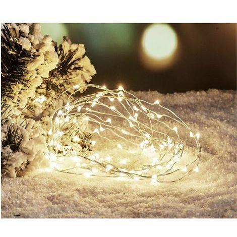 1,2 m 192 DEL Cluster épis Guirlande Lumineuse Noël coloré pour intérieur et extérieur