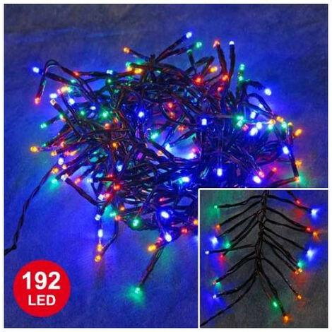 Guirlande Feu d'artifice Multicolore 1,8 mètre 192 LED