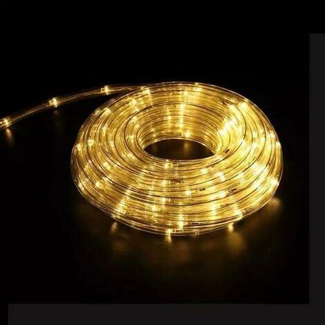 "main image of ""Guirlande LED 220V 10m IP44 - Blanc Chaud - SILAMP"""