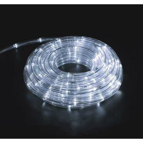 Guirlande LED 220V 10m IP44 - Blanc Froid - SILAMP