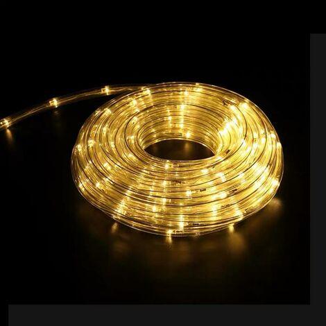 Guirlande LED 220V 20m IP44 - Blanc Chaud