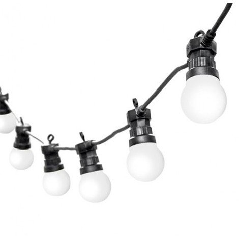 Guirlande LED lumineuse blanche PARTY MILKY