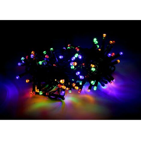 Guirlande LED Multicolore 220V 5M IP44 100 LED (+transfo) - SILAMP
