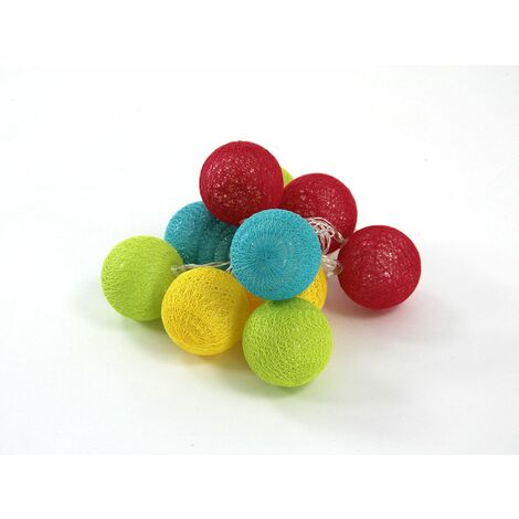 Guirlande lumineuse 10 boules Led - Atmosphera