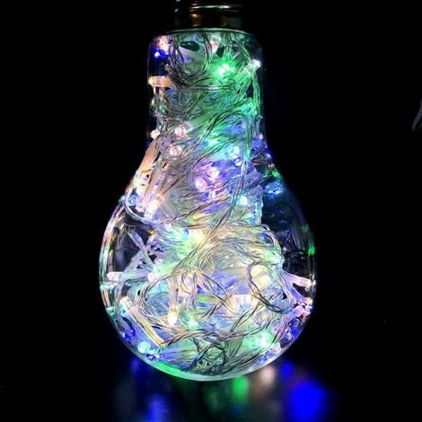Guirlande lumineuse à LED multicolores