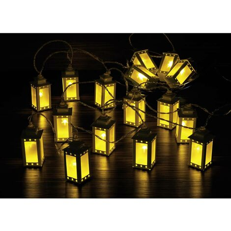 Guirlande lumineuse à motifs pour lintérieur Polarlite WS-131017909 16LAP Ampoule LED blanc chaud lanternes 1 pc(s)