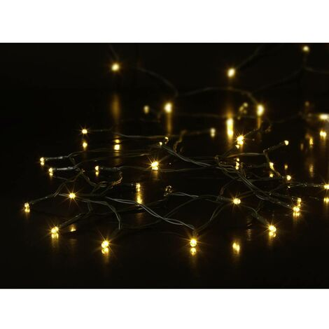 Guirlande lumineuse avec piles  Sygonix  SY-4533462     blanc chaud