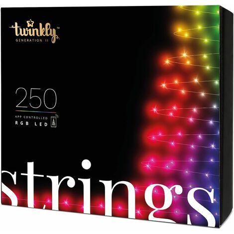 Guirlande lumineuse Connectée TWINKLY RGB pour Sapin de Noël