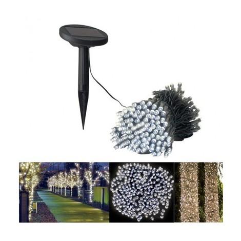 guirlande lumineuse de jardin 50 leds 6 m tres 325410. Black Bedroom Furniture Sets. Home Design Ideas