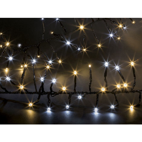 Guirlande lumineuse extérieur Boa 192 LED Blanc froid / chaud , Jardideco