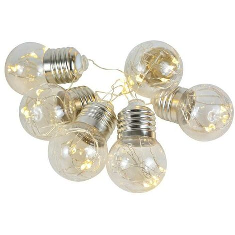 Guirlande lumineuse LED USB 0,6W intérieur Ampoules lumière de fée