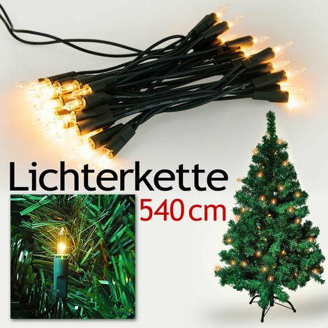 Guirlande lumineuse Sapin de noel - 5,4m - 40 ampoules - Décoration fin d'année