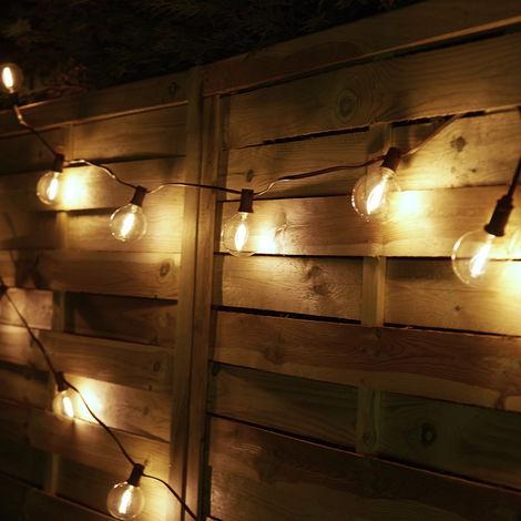 Guirlande lumineuse ampoule ronde