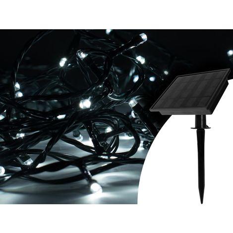 Guirlande lumineuse solaire, GardenLight 300 LED blanc, GardenLight 300 LED blanc