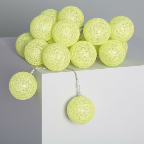 Guirnalda 20 Bolas LED Lemon