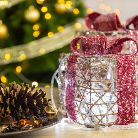 Guirnalda Cable LED con Batería 3m Blanco Cálido 3000K - 3500K