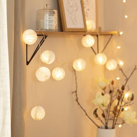 Guirnalda de Luces LED Stewpot 2,1m Blanco Cálido 2700K - 3200K