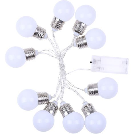 Guirnalda de luces, luces de fiesta de Navidad, 10Leds