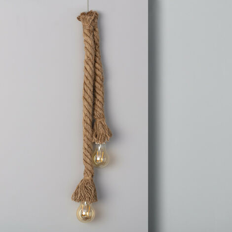 Guirnalda LED Colgante Kamba 2 Focos 1m Pilas - Pilas