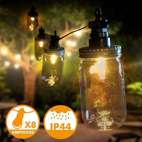 Guirnalda LED para exterior The Perfect 8 Bulbs