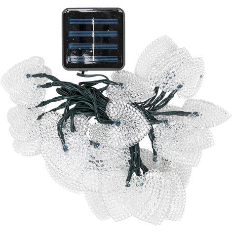 Guirnalda LED Solar 30 LEDs [PLMP-626055-WW] | Blanco Cálido (PLMP-626055-WW)