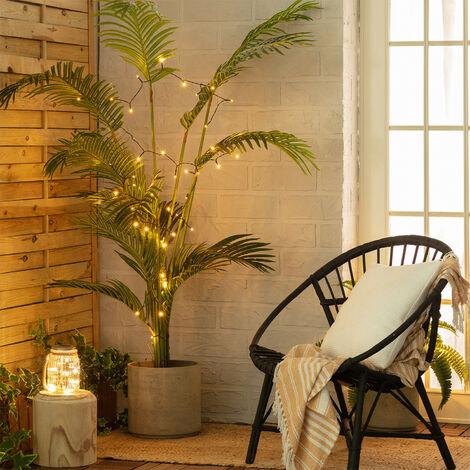 Guirnalda LED Solar Lasan 4m Blanco Cálido 2700K - 3000K - Blanco Cálido 2700K - 3000K