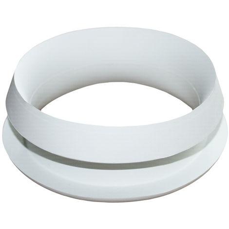 Gummi WC-Verbinder DN 100 weiß