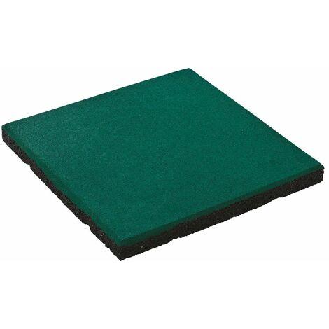 Gummimatte 50x50x4,5 cm grün