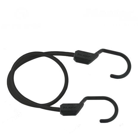 Zill Expander-Seil mit Clip-Verschluss 12 m Spann-Gummi Schwarz