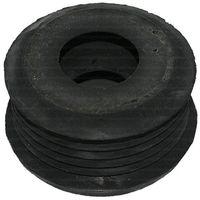 Gummiverbinder schwarz für WC 55 mm - für Spülrohr 26-34 mm