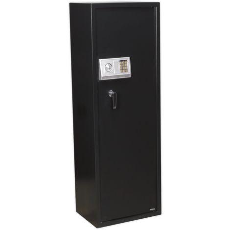 Gun Cabinet with Ammo Box & Electronic Lock 8 Gun Capacity